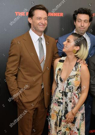 Hugh Jackman and Molly Ephraim