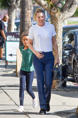Editorial picture of Ellen Pompeo out and about, Los Angeles, USA - 30 Oct 2018