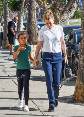 Editorial image of Ellen Pompeo out and about, Los Angeles, USA - 30 Oct 2018