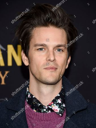 "Dallon Weekes attends the premiere of ""Bohemian Rhapsody"" at The Paris Theatre, in New York"