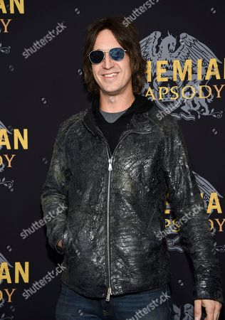 """Stock Photo of Joseph Arthur attends the premiere of """"Bohemian Rhapsody"""" at The Paris Theatre, in New York"""