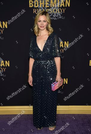 "Rebecca Night attends the premiere of ""Bohemian Rhapsody"" at The Paris Theatre, in New York"