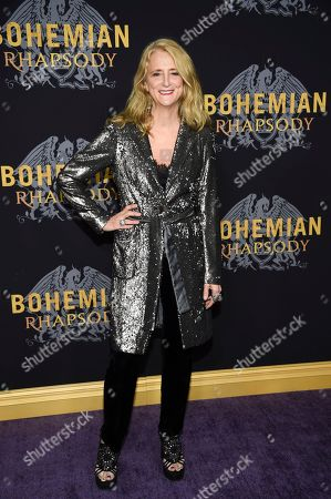 """Nanette Lepore attends the premiere of """"Bohemian Rhapsody"""" at The Paris Theatre, in New York"""