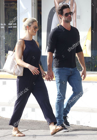 Editorial photo of Caroline Pearce out and about, Los Angeles, USA - 30 Oct 2018