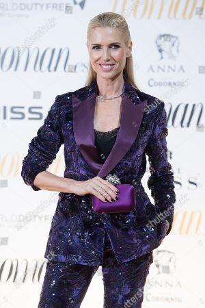 Editorial image of Woman Awards, Casino de Madrid, Spain - 30 Oct 2018