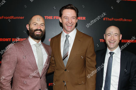 Editorial image of The New York Red Carpet Premiere of Columbia Pictures' 'THE FRONT RUNNER', USA - 30 Oct 2018