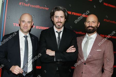 Editorial photo of The New York Red Carpet Premiere of Columbia Pictures' 'THE FRONT RUNNER', USA - 30 Oct 2018