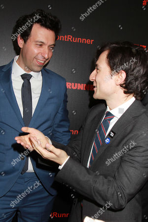 Alex Karpovsky and Josh Brener