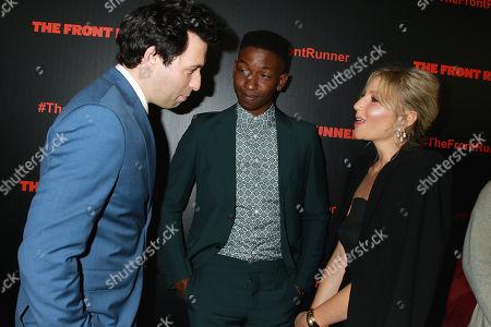 Alex Karpovsky, Mamoudou Athie and Ari Graynor