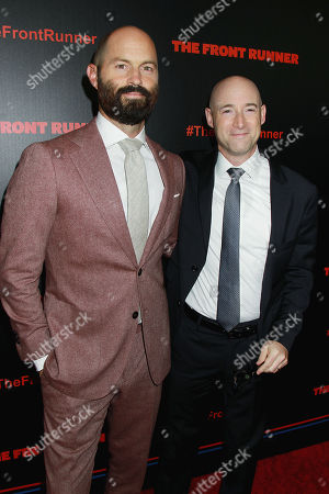 Stock Image of Jay Carson and Matt Bai