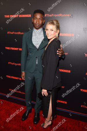 Mamoudou Athie and Ari Graynor