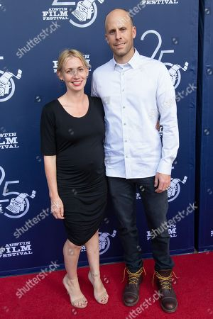 Stock Photo of Director Todd Sansom and his wife Neomie Sampson