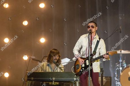 Arctic Monkeys - Jamie Cook and Alex Turner