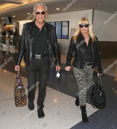 Suzanne Somers and Alan Hamel
