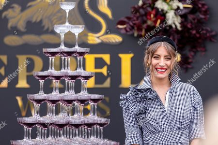 Rebecca Harding is seen in Seppelt Wines ahead of the Melbourne Cup Carnival in Melbourne, Australia, 31 October 2018.