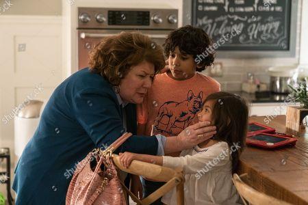 Margo Martindale as Grandma Sandy, Gustavo Quiroz as Juan, Julianna Gamiz as Lita