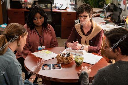 Rose Byrne as Ellie, Octavia Spencer, Tig Notaro, Mark Wahlberg as Pete