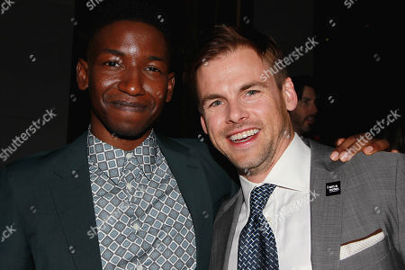 Stock Photo of Mamoudou Athie, and Tommy Dewey