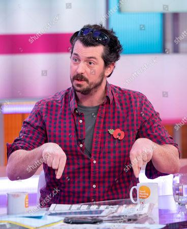 Editorial photo of 'Good Morning Britain' TV show, London, UK - 31 Oct 2018