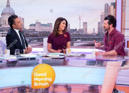 Editorial image of 'Good Morning Britain' TV show, London, UK - 31 Oct 2018