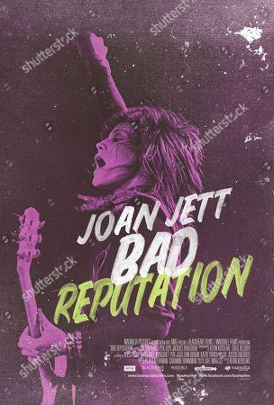 Bad Reputation (2018) Poster Art. Joan Jett