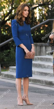 Editorial photo of Catherine Duchess of Cambridge visits the Imperial War Museum, London, UK - 31 Oct 2018