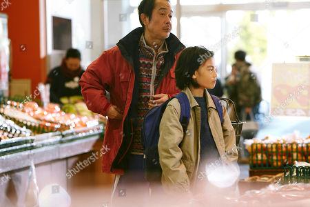 Lily Franky as Osamu Shibata, Miyu Sasaki as Yuri,