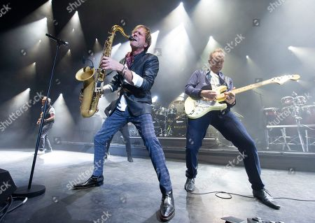 Stock Picture of Steve Norman and Gary Kemp