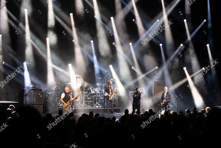 Editorial image of Spandau Ballet in concert at the Eventim Apollo, Hammersmith, London, UK - 29 Oct 2018