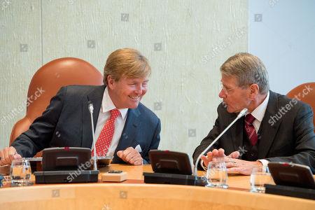 King Willem-Alexander and Piet Hein Donner