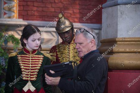 Mackenzie Foy as Clara, Jayden Fowora-Knight as Phillip and Joe Johnston Director