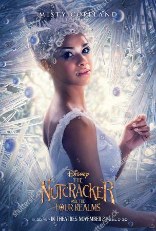 The Nutcracker and the Four Realms (2018) Poster Art. Misty Copeland as Ballerina Princess