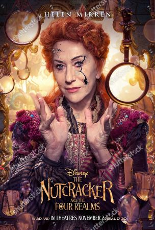 Stock Image of The Nutcracker and the Four Realms (2018) Poster Art. Helen Mirren as Mother Ginger