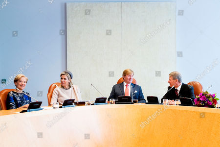 Editorial photo of Extraordinary meeting of the Council of State, The Hague, The Netherlands - 31 Oct 2018