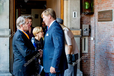 Editorial image of Extraordinary meeting of the Council of State, The Hague, The Netherlands - 31 Oct 2018