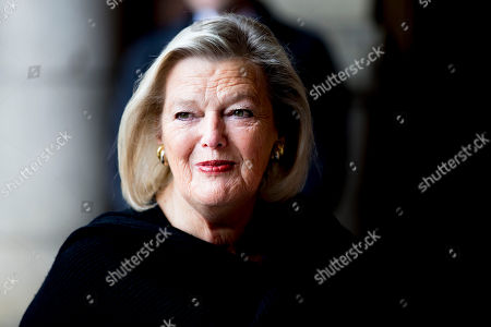 Ankie Broekers-Knol. Extraordinary meeting of the Council of State, The Hague, The Netherlands