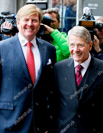 King Willem-Alexander, Piet Hein Donner. Extraordinary meeting of the Council of State, The Hague, The Netherlands