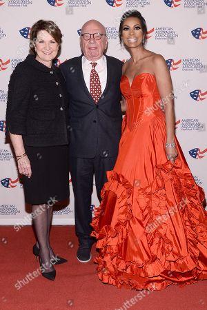 Rupert Murdoch, Marillyn Hewson, Harris Faulkner