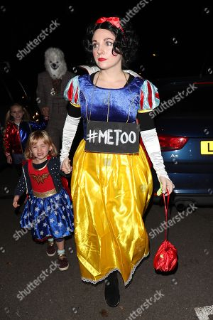 Editorial picture of Jonathan Ross Halloween party, London, UK - 31 Oct 2018