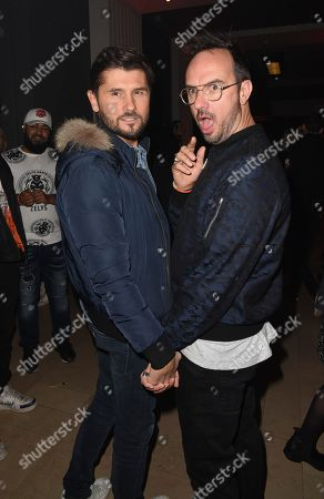 Christophe Beaugrand and Jarry