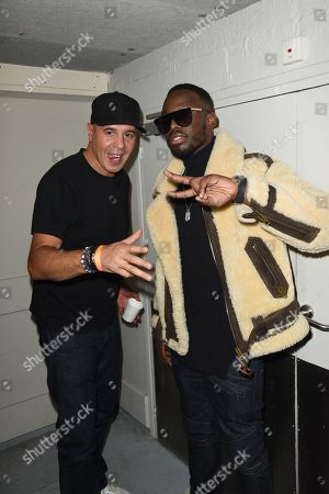 Stock Picture of Cut Killer and Dadju