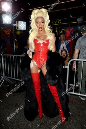 Editorial image of Heidi Klum's 19th Annual Halloween Party, Arrivals, New York, USA - 31 Oct 2018