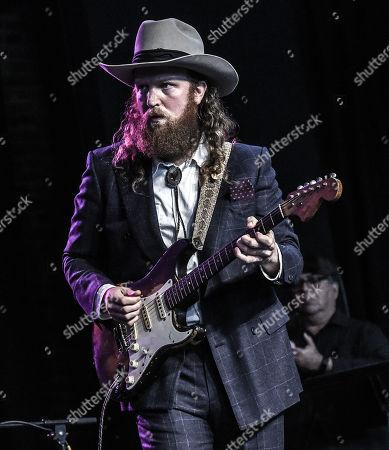 John Osborne of Brother Osborne plays Tony Joe White's guitar