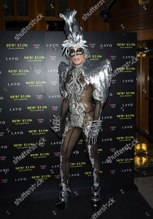 Jorge Gonzalez attends Heidi Klum's 19th annual Halloween party at Lavo New York, in New York