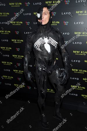 David Kirsch attends Heidi Klum's 19th annual Halloween party at Lavo New York, in New York