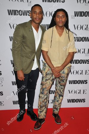 Reggie Yates and guest