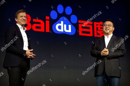 Hakan Samuelsson, Ya-Qin Zhang. Volvo Cars CEO Hakan Samuelsson, left, and Baidu president Ya-Qin Zhang speak during the 2018 Baidu World conference in Beijing, . Chinese technology company Baidu announced on Thursday that it is partnering with Swedish carmaker Volvo to develop electric cars with autonomous-driving capabilities