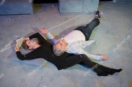 Katie Brayben as Claudia, Henry Goodman as George