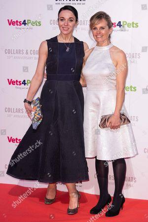 Stock Photo of Amanda Abbington and Freya North