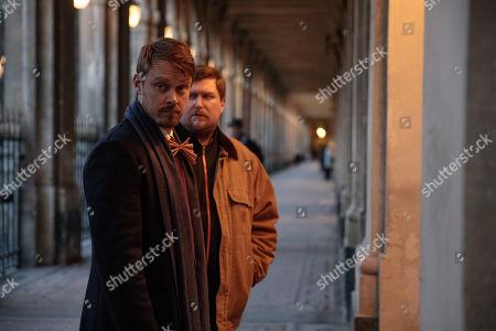 Michael Dorman as John Tavner, Michael Chernus as Edward Tavner